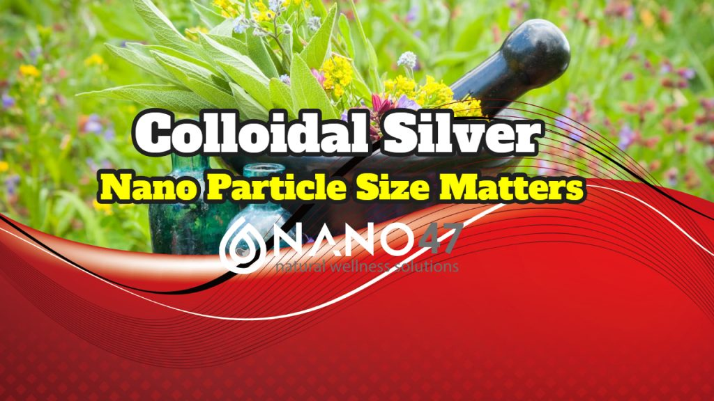 Colloidal Silver Particles