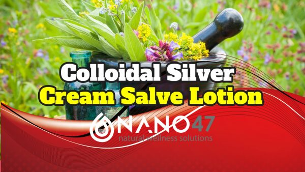colloidal silver cream salve lotion