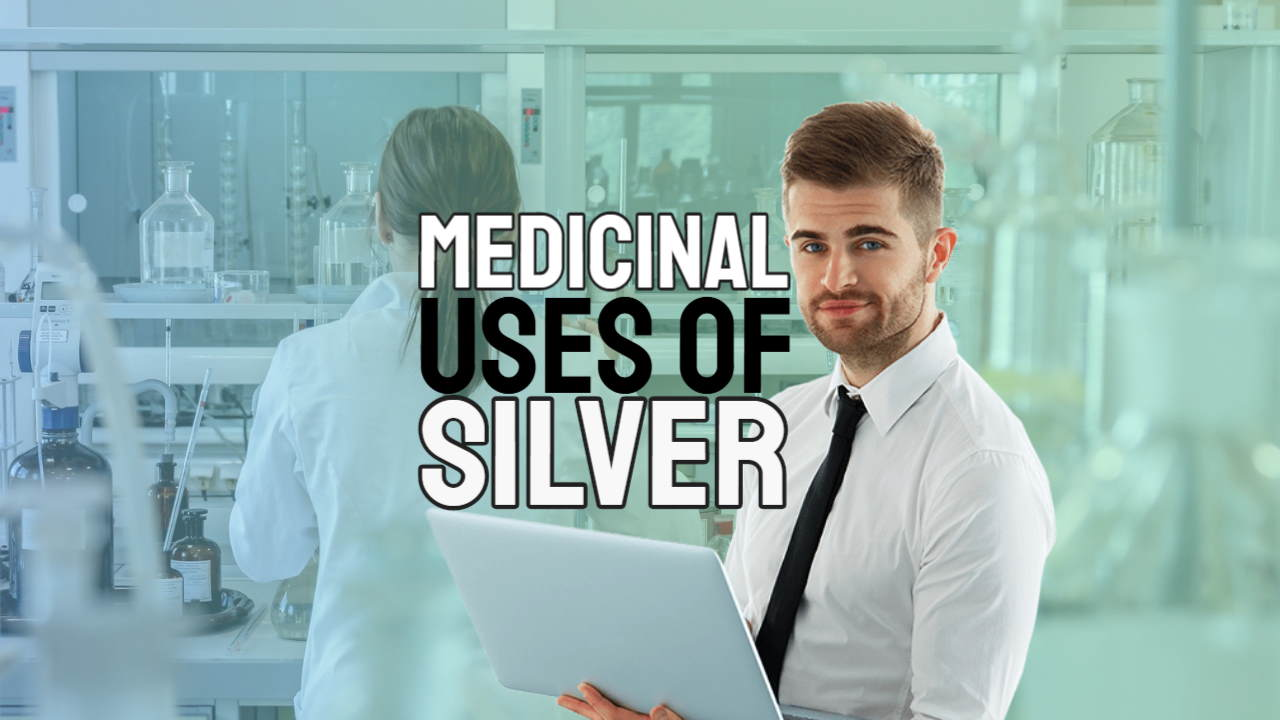 "Featured image conatins the text: ""Medicinal Uses of Silver""."